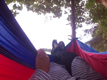 Hammock'an is a must when you at beach